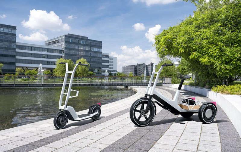 BMW, inşa etmeyeceği 2 çok havalı yeni elektrikli scooter konseptini piyasaya sürdü